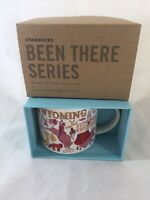 """Starbucks Wyoming """"Been There Series"""" 14oz Coffee Mug Cup New w/ Box Collectible"""