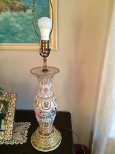 Beautiful Venitian ( I Believe) Glass Lamp