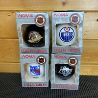 NHL 1993 Christmas Ornament Noma Collectibles Kings - Rangers - Oilers - Canucks