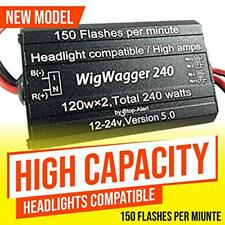 Fastwagger 240 Headlight Wig Wag flasher LED strobe relay STRONG for Cars Trucks