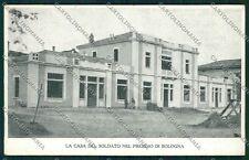 Bologna città Militari Casa Soldato cartolina QQ9109