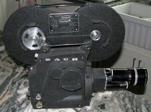 Bach Auricon 16mm Camera 860 D-Flex Kern Paillard 2.5/18-86MM EE Lens - NEW