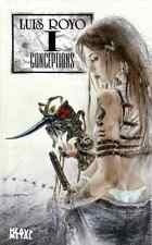 LUIS ROYO CONCEPTIONS 1 ORIGINAL JUN 2002 1ST EDITION HARDCOVER BOOK BRAND NEW