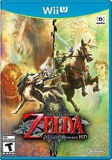 NEW Legend of Zelda: Twilight Princess HD (Nintendo Wii U, 2016) GAME ONLY