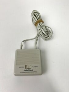 RadioShack Multi-Phone Recording Control 43-1236 Telephone Accessories Record
