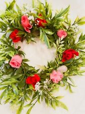 Petite Rose Quartz Wreath