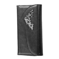 Glänzende Handy-taschen mit Kartenfach aus Kunstleder für Samsung