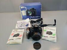 Canon PowerShot SX20 IS 12.1MP Digital Camera - Black excellent condition.