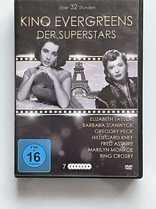 KINO EVERGREENS DER SUPERSTARS - 21 Filme auf 7 DVDs mit Raritäten