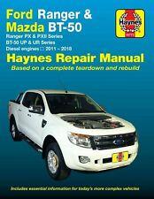 Ford Ranger Mazda BT-50 Diesel 2011 - 2018 2.2 & 3.2 Diesel Haynes Manual 36772