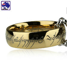 Titanium Steel Ring - Lord of the Rings - Necklace 60CM Chain Included JRING1006