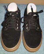 VANS Chukka Low Pro Gum Suede Black Brown Ultra Cush Skate Shoe Men's Size 7