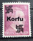 Local Deutsches Reich WWll Propaganda,Private overprint Korfu MNH