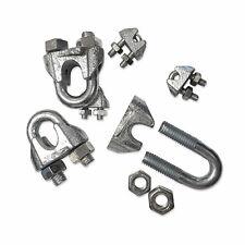 5 pcs acier galvanis/élire serre-c/âbles /étrier DIN 741 12//13mm zingue