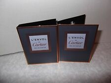 Men's L'Envol de Cartier Eau De Parfum 2 x 1.5ml sprays New Release.Free Postage