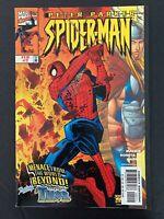 PETER PARKER SPIDER-MAN #2  MARVEL COMICS 1999 VF+  JOHN ROMITA JR VARIANT COVER