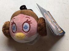 Angry birds Star Wars Princess Leia Key Ring Bag Clip Soft Toy