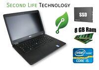 """Dell Latitude E5450 14"""" FHD Intel i5-5300U NEW 256GB SSD 8GB RAM Win 10 Pro"""
