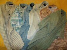 LOT OF 6: ExOfficio Hiking, Fishing Shirts Short- & Long-Sleeves