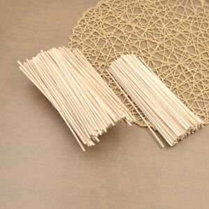 100pc Natural Rattan Reed Fragrance Diffuser Aroma Replacement Sticks Home Decor