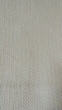 """New listing Rare Vintage Laura Ashley Lambourne Fabric Natural Oat Chenille 22"""" x 54"""" W"""