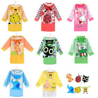 Funny Raincoat Baby Children Kids Cartoon Rain Coat Rainwear Waterproof Rainsuit