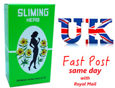 80 Bags GERMAN SLIMING HERB TEA Slimming Weight Loss calories burning Green Tea