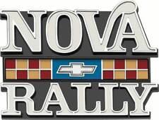 "1977-79 ""Nova Rally"" Grill Emblem"