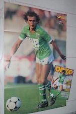 FOOTBALL ONZE 75 1982 ASSE SAINT-ETIENNE PLATINI ROCHETEAU SIX STUTTGART SURJAK