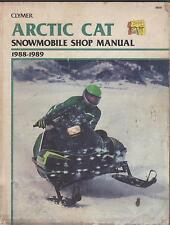 1988-1989 Clymer Arctic Cat Snowmobile S835 Service Manual (495)