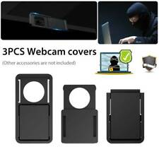 3Pcs Webcam Shutter Cover Magnetic Slider Camera Cover for Laptop iPad Phone PC
