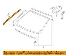 GM OEM Windshield-Reveal Molding Left 92212084
