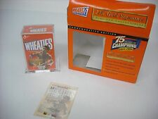 Wheaties 1999 Muhammad Ali 24K Gold Signature Wheaties Mini Box Collectible