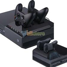 Dual Charging Charger Dock Station Cooling Fan USB Ports for Microsoft Xbox One