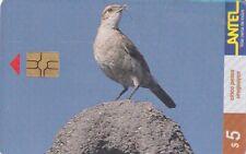 URUGUAY CHIP PHONECARD USED BIRD,6.