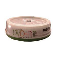 10 Memorex dvd + r lightscribe (16x) 4.7 go 120Min (10 broche) m10085
