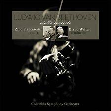 Ludwig Van Beethoven VIOLIN CONCERTO 180g FRANCESCATTI Bruno Walter NEW VINYL LP