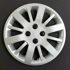 "One New Wheel Cover Hubcap Fits 2009-2010 Chevrolet Cobalt 15"" Silver Lug Cover"
