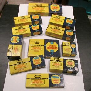 (11) Full boxes of AURORA Model Motoring Track & Accessories +++