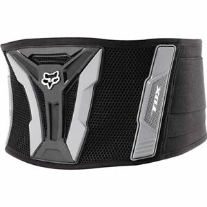 Black/Grey Sz One Size Fox Racing Turbo Kidney Belt