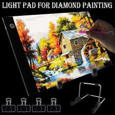 A4 LED Light Pad For Diamond Painting 5D Diamond Embroidery Light Board TooODAP