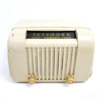 1947 Vintage Tube Radio Crosley 58TL Bakelite Mid Century Modern AM Tabletop