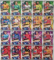 2020 Match Attax 101 Soccer Cards Full set of 20 special cards Messi Salah Kante