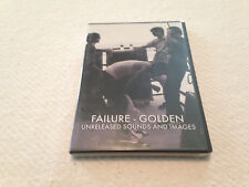 Failure - Golden - Unreleased Sounds & Images - DVD & CD
