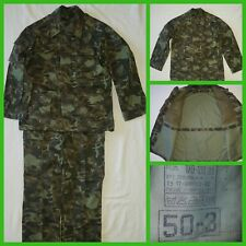 Russian  Army camo suit jacket tunic pants uniform  50-3
