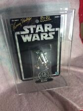 kenny baker signed star wars silver anniversary R2-D2 figure
