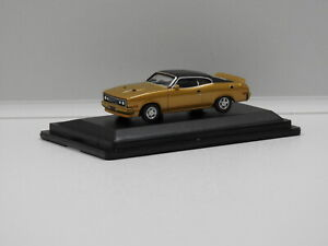 1:87 1979 Ford XC GS Coupe (Gold Dust/Black Vinyl Roof) Aussie Road Ragers 80963