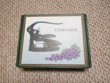 New listing Wine Bottle Opener Corkscrew w/Foil Cutter