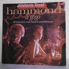 """33T James LAST Vinyle LP 12"""" HAMMOND A GOGO - 27 MELODIEN ZUM ... POLYDOR 237470"""
