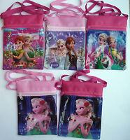 DISNEY FROZEN Girls Childrens Messenger Shoulder Bag purse Elsa Anna NEW